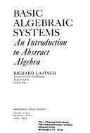 Basic algebraic systems