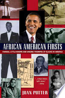Book African American Firsts
