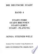 Die deutsche Stadt. Band 4