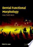 Dental Functional Morphology