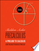 Precalculus  A Prelude to Calculus  3rd Edition