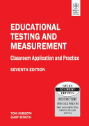 Educational Testing And Measurement  Classroom Application And Practice  7Th Ed
