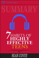Summary: The 7 Habits of Highly Effective Teens