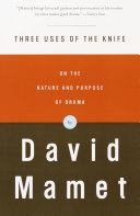 Three Uses of the Knife Book