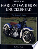 Original Harley Davidson Knucklehead