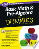 Basic Math and Pre Algebra