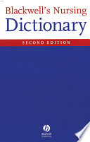 Blackwell s Nursing Dictionary