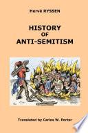 History of Anti Semitism