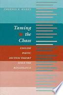 Taming the Chaos