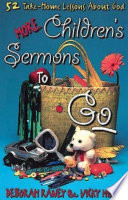More Children s Sermons To Go