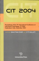 Cit 2004  Proceedings Of The 7th International Conference On Information Technology