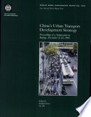 illustration du livre China's Urban Transport Development Strategy