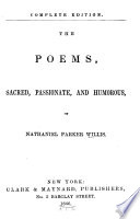 The Poems  Sacred  Passionate and Humorous