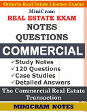 MiniCram Real Estate Exam Notes   Questions Commercial