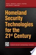 Homeland Security Technologies for the 21st Century