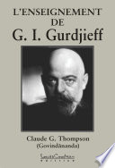 L'ENSEIGNEMENT DE G.I. Gurdjieff
