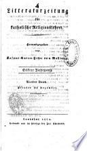 Litteraturzeitung für katholische Religionslehrer