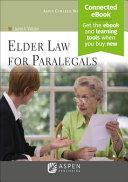 Elder Law for Paralegals