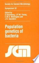 Population Genetics Of Bacteria book