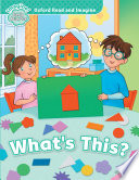 download ebook what's this? (oxford read and imagine early starter) pdf epub