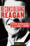 Book Reconsidering Reagan