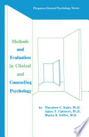 Methods and Evaluation in Clinical and Counseling Psychology The Many Sided Problems That Psychology