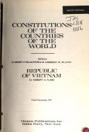 Constitutions of the Countries of the World