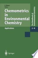Chemometrics In Environmental Chemistry Applications book