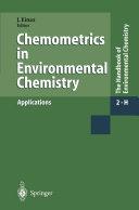 download ebook chemometrics in environmental chemistry - applications pdf epub