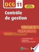 Contr Le De Gestion Dcg Epreuve 11 Manuel Et Applications Epub 3 Rf 2019