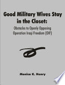Good Military Wives Stay