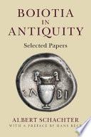 Boiotia In Antiquity : of the most important regions of ancient...