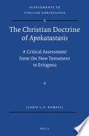 The Christian Doctrine of Apokatastasis