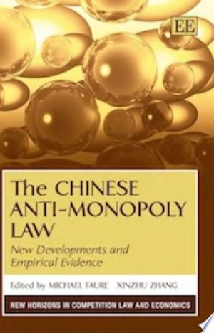 The Chinese Anti-Monopoly Law - ISBN:9781781003244