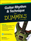 Guitar Rhythm   Technique For Dummies  Book   Online Video   Audio Instruction