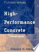 Fundamentals Of High Performance Concrete