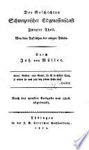 Johannes von Müller sämmtliche Werke