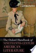 Ebook The Oxford Handbook of Nineteenth-Century American Literature Epub Russ Castronovo Apps Read Mobile