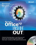 Microsoft Office Xp Inside Out book
