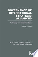 Governance of International Strategic Alliances