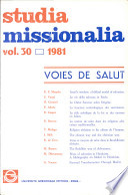 Studia Missionalia