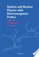 Hadron and Nuclear Physics with Electromagnetic Probes
