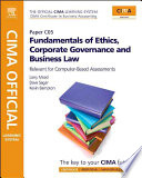 CIMA Official Learning System Fundamentals of Ethics  Corporate Governance and Business Law
