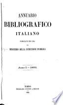 Annuario bibliografico italiano