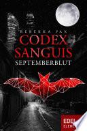 Codex Sanguis - Septemberblut