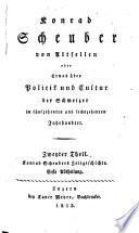 Konrad Scheuber von Altsellen, ein Tochtersohn des seligen Bruder Niklaus v. Flue