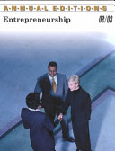 Annual Editions  Entrepreneurship 02 03