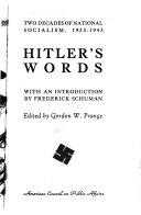 Hitler s Words