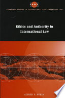 Ethics and Authority in International Law