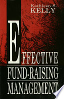 Effective Fund Raising Management
